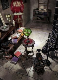 Stop by our domain for lots more relating to this surprising dollhouse diy Haunted Dollhouse, Haunted Dolls, Dollhouse Dolls, Miniature Dolls, Dollhouse Ideas, Dollhouse Miniatures, Dollhouse Interiors, Miniature Crafts, Halloween House