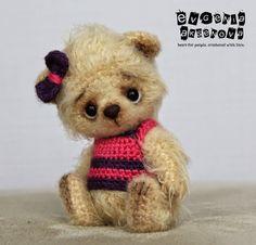 Медведи для больших и маленьких людей: Челси - Amigurumi bear (Inspiration).