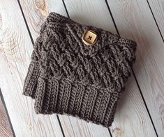 Crochet Pattern for Diagonal Weave Boot Cuffs – Crochet by Jennifer Crochet Boot Cuffs, Crochet Boots, Vintage Headbands, Baby Headbands, Baby Pants, Crochet Hook Sizes, Knitted Headband, Crochet Fashion, Crochet For Kids