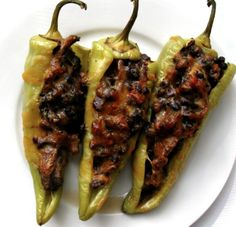 Stuffed Chili Peppers - Ideal Protein Diet Phase 1 Compatible