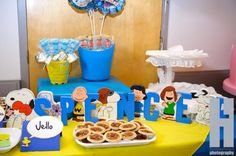 Snoopy and the gang Birthday Party Ideas Snoopy Party, Peanuts Gang Birthday Party, Snoopy Birthday, Birthday Party Images, 6th Birthday Parties, 1st Birthday Girls, Birthday Ideas, Ward Christmas Party, Baby Shower