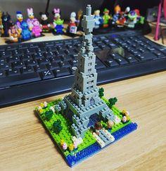 #나노블럭#nanoblock#프랑스#파리 #에펠탑#kawada#france#paris #eiffeltower#nbh097 난이도☆☆