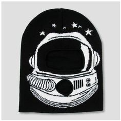 Cat & Jack Boys' Astronaut Beanie - Cat & Jack Black