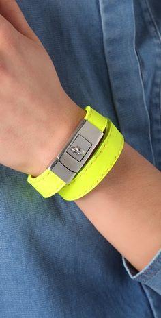 CC SKYE  Portico Bracelet  Style #:CCSKY40073  $137.00 - neon yellow
