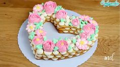 It's super quick, easy, and delicious! Credit: Cakepedia COOKIE CAKE 0 Source by Sweet Cakes, Cute Cakes, Yummy Cakes, Cake Recipes, Dessert Recipes, Number Cakes, Food Cakes, Cookie Cakes, Cake Trends
