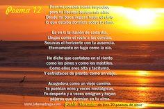 Poema 12 de Pablo Neruda
