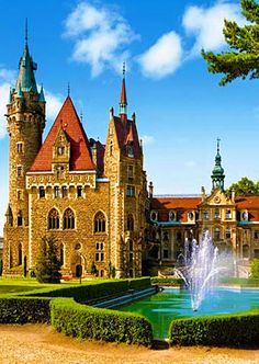 Mozna Castle in Poland