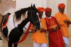 The guards of the fort of Mandawa (India) | Les gardiens du fort de Mandawa (Inde) | The guards of the fort of Mandawa (India)
