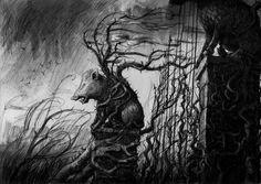 Jim Kay jonathan strange and mr norrell graveyard