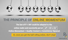 The Principle of Online Momentum!