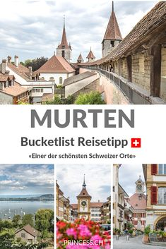 Ausflugstipp: Murtensee mit dem E-Bike - Diy Wear Reisen In Europa, Travel Destinations, Travel Europe, Paris Skyline, Beautiful Places, Explore, Mansions, World, House Styles