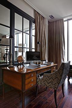 Фотография: Офис в стиле , Дом, Дома и квартиры, светлое помещение, большая квартира, большое пространство – фото на InMyRoom.ru