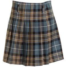 Pre-owned Philosophy Di Alberta Ferretti Multi/Plaid Skirt (2740 RSD) ❤ liked on Polyvore