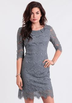 Out To Sea Lace Dress at #threadsence @threadsence