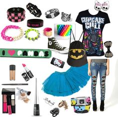 """emo/scene outfit of the day Xp"" by movinmo ❤ liked on Polyvore"