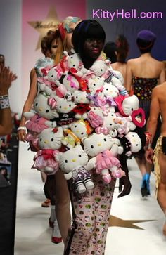 Worst dressed - Hello kitty fashion disaster