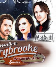 Sneak peek at the initial concept art for #OnceUponAFan's #OperationStorybrooke poster by @ZiaFranny. #OUAT -  that moment when you can't tell if the man of the left is Robin, or Killian....o.O