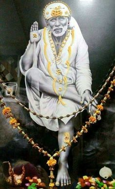 Forbearance or patience (Saburi) and Faith (Shraddha) cuts away calamities from all directions. Sai Baba Pictures, God Pictures, Hd Wallpapers 1080p, Hd 1080p, Shirdi Sai Baba Wallpapers, Sai Baba Hd Wallpaper, Saints Of India, Sai Baba Quotes, Baba Image
