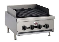 "Wells Charbroiler 12"" wide - HDCB-1230G    Wells Charbroiler 12"" wide - HDCB-1230G  Charbroiler, natural gas, counter unit, 12"" wide, stainless steel construction, 40,000 BTU"