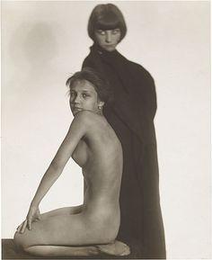 František Drtikol Draped Woman Behind Seated Nude Nude Photography, Fine Art Photography, Prague, Grand Prix, Alfons Mucha, Simple Subject, Art Deco, Art Nouveau, Moving To California