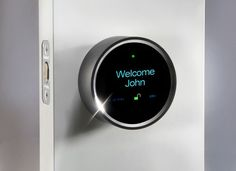 Goji Smart Lock keeps track of who comes in and goes out. But it also takes the logging feature one step further by taking a picture of whoever is at the door and sending it to your iOS or Android phone, whether you're home or not. If you want the person to come in, you can unlock the door from wherever you are