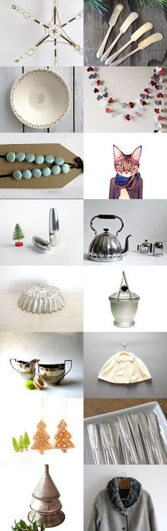 Thursday`s Wintery Mix by Untried on Etsy--Pinned with TreasuryPin.com