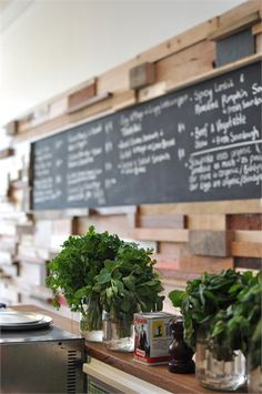 Slowpoke espresso, Fitzroy, Melbourne, 2011 by sasufi #cafe #restaurant #blackboard #wall