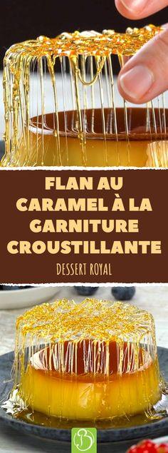 The crunchiest topping since dessert. With delicious cream. Creamy dessert, with a crispy caramel topping. The crunchiest topping since dessert. With delicious cream. Creamy dessert, with a crispy caramel topping. Easy Potluck Recipes, Easy Desserts, Dessert Recipes, Cooking Recipes, Oreo Desserts, Chocolate Desserts, Dessert Simple, Flan Au Caramel, Desserts Caramel