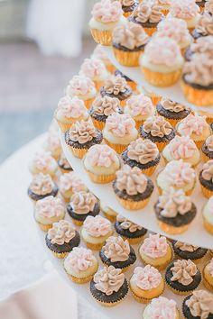 Mini cupcake table!