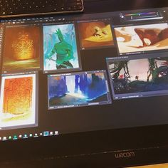Nice productive day so far.  #conceptart #Conceptverse #Mooeti #artursadlos #ip #visdev #visualdevelopment #workplace