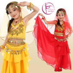 danza del vientre falda de los niños de la danza bollywood disfraces de envío gratis