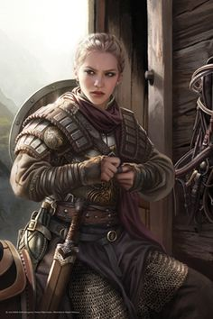 Seigneur de Kirt Eowyn et l'une des rare femme a avoir ce titre quelle a malheureusement obtenu a la mort de son père grande guerriere a l'épée et au bouclier son allégeance envers le roi ou les elfe et trouble elle proposera 3 quête 1er de ramener mort ou vif un chef truand elfe si vif les joueur auront des chance d'être plus alleagent envers les elfes si non les homme en 2eme trouver un parchemin ancien au tombeau de Kirt et en plus donc la 3eme d'escorter un mage 5600 po+1 lettre de…