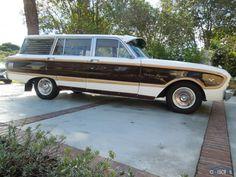 1963 Ford Falcon XL Squire Wagon