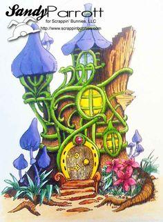 Copic treehouse