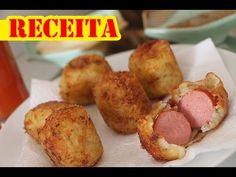 Coisas que Gosto: Receita: Bolinho Hot Dog (MUITO FÁCIL) - por Luiza...
