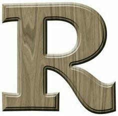 Name Design, Logo Design, R Wallpaper, Owl Always Love You, Letter Patterns, Alphabet And Numbers, Wood Letters, 3 D, Alphabet