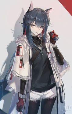 Texas, Yuxiang Chen – About Anime Anime Girl Neko, Art Anime Fille, Anime Wolf Girl, Cool Anime Girl, Chica Anime Manga, Anime Art Girl, Anime Boys, Manga Art, Anime Angel