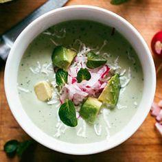 Chilled Avocado and Yogurt Soup