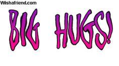 Hugs Facebook Graphic - Big Hugs