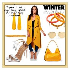 """""""Winter Style....."""" by paige-brrian ❤ liked on Polyvore featuring Boohoo, Marc Jacobs, Linda Farrow, Jimmy Choo, M Missoni, Kenneth Jay Lane and Aquazzura"""