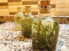 Aceites aromaticos, de oregano, albahaca y aceite de romero
