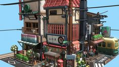 Littlest Tokyo by glenatron