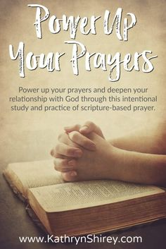 Are You Ready To Discover the Power of Prayer in Your Life? Take the Power Up Your Prayers course and learn how to pray scripture, pray through lectio divina and pray through Gospel contemplation. The course also includes a 30 day prayer devotional diving into the essence and power of prayer, plus a 7 day prayer devotional following Jesus' journey to the cross. This makes a perfect devotional for Lent - or anytime. Expand your prayer language and deepen your relationship with God.