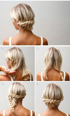 Top 10 messy braided hairstyles tutorials to be stylish this fall - Haare - Messy Braids Hair Styles Messy Braided Hairstyles, Braided Hairstyles Tutorials, Pretty Hairstyles, Hairstyle Ideas, Wedding Hairstyles, Hair Ideas, Stylish Hairstyles, Short Hair Updo Easy, Long Hairstyles