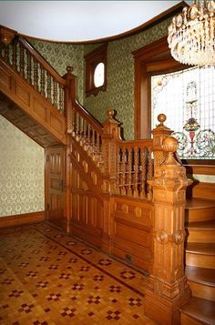 Wonderful Oak Staircase #woodplanswindow