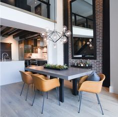 10 Captivating Industrial Dining Room Designs You'll Go Crazy For | My Home Design