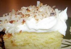 / Cream Cheese Sheet CakeCoconut Topped / Cream Cheese Sheet Cake Fool's Cake - A simple, fool-proof cake everyone loves! This yummy dessert has layers of walnuts, yellow cake, coconut and pineapple. Perfect for potlucks! Best Coconut Cake Ever Recipe Jello Recipes, Fruit Salad Recipes, Coconut Recipes, Dessert Recipes, Vanilla Recipes, Frosting Recipes, Pie Recipes, Recipies, Cooking Recipes