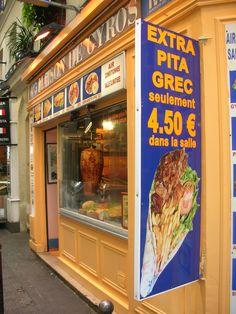 MG Maison de Gyros, 8 Rue Xavier Privas, Paris 5