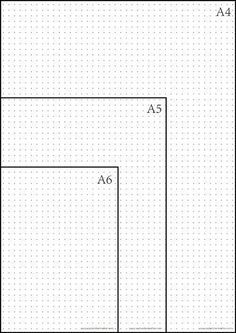When comes to bullet journal paper, there is no better choice than the dot grid pages. The dotted grid pattern features dots that provide guidance which ruled &