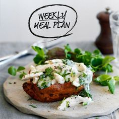 A week of healthy recipes